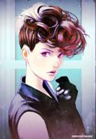 Gibson Girl by kasai