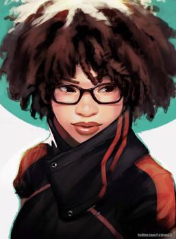 Afro Jylz by kasai