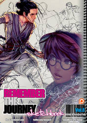 REMEMBERtheJOURNEY Sketchbook Vol.8+PSD+Video $5 by kasai
