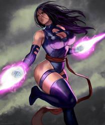 Psylocke by kasai