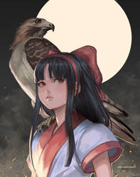 Nakoruru + Mamahaha by kasai