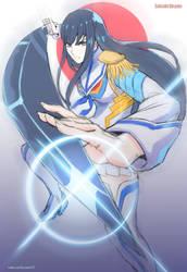Commission - Satsuki Kiryuin by kasai