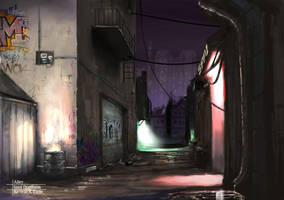 Steel Dominion - Alley by kasai