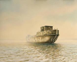 Shipwreck by JoachimL