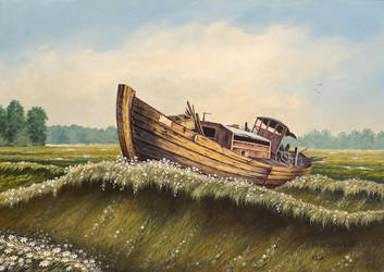Grassland sea by JoachimL