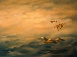 Schwebend (floating) by JoachimL