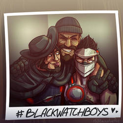 Blackwatch Boys by Marsalinapocalypse