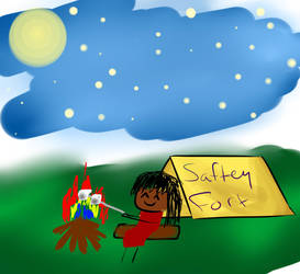 Saftey Fort- Bii by IDKNearLoverPerson