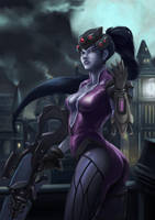Fan Art - Widowmaker Overwatch by Zeon1309