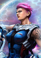 Fan Art - Zarya by Zeon1309