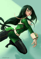 Fan Art - Tsuyu Asui by Zeon1309