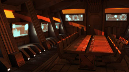 Sci-Fi Conference  Room by TempestWorks