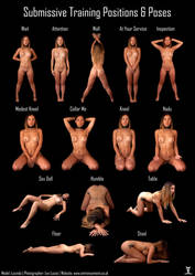 Submissive Pose Chart - Lucinda by LexLucas
