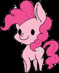 Pixel Pinkie Pie by KimkahMakara