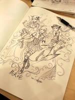 [Tibu ship event] triple the fun! by PlatinaSi