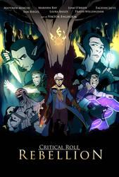 Critical Role - Rebellion by Viktormon