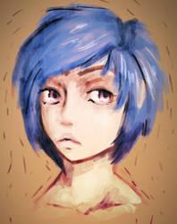 Girl Sketch by IsiacDaGraca