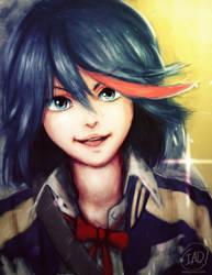 Ryuko Portrait by IsiacDaGraca