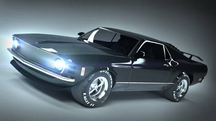 Mustang BOSS 429 Black edition by FirenSVK