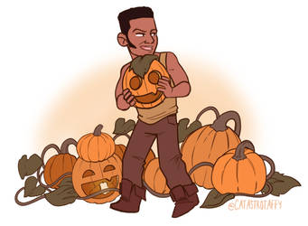 The Big Pumpkin Thief by catastrotaffy