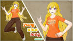 [MMD] Yang Xiao Long - Casual Wear [DL] by TheClassicThinker
