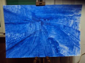 Porto di ripa grande (WORK IN PROGRESS) by AndreaSchillaci