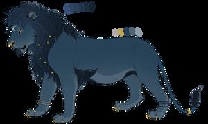 Lunar Lion Auction [CLOSED] by SunDanceTheWolf