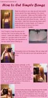 How to Cut Simple Bangs by Katsumiyo