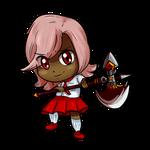 CO: Character Render - FlameChocobo by BKcrazies0