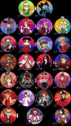 2Spooky4U - Part 2 - Halloween Icon Batch by BKcrazies0