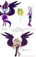 Midnight S. , C.Coloratura and Artspade Fusion by PrettyCelestia