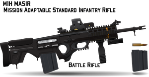 M1H MASIR Battle Rifle by Afterskies