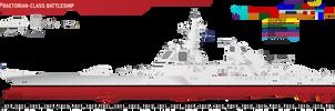 Praetorian-class Battleship by Afterskies