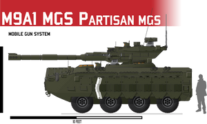 M9A1 APC Mobile Gun System by Afterskies