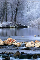 Sleepy river by KirlianCamera