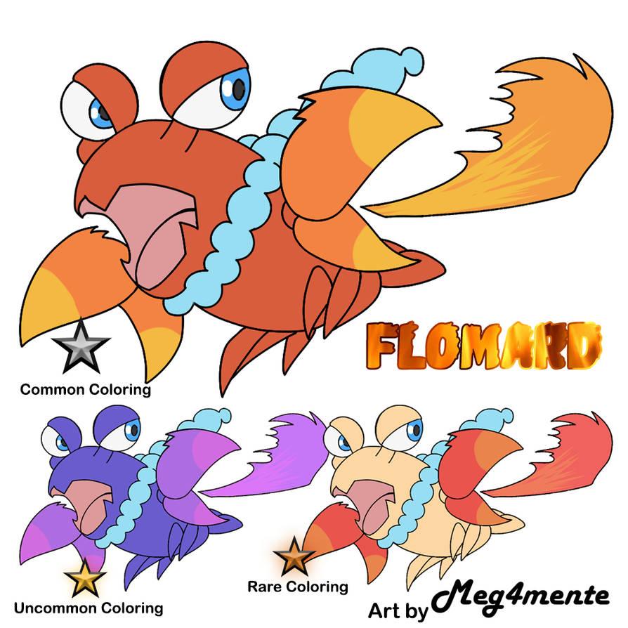 Novis Starter (Fire) Flomard! by tesagk