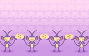 Ambipom Wallpaper by raichu288