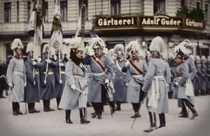 Kaiser Wilhelm II inspects by KraljAleksandar