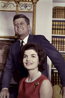 Kennedy and his wife by KraljAleksandar