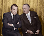 Nixon and Hoover by KraljAleksandar