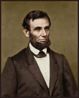 Abraham Lincoln in 1861 by KraljAleksandar