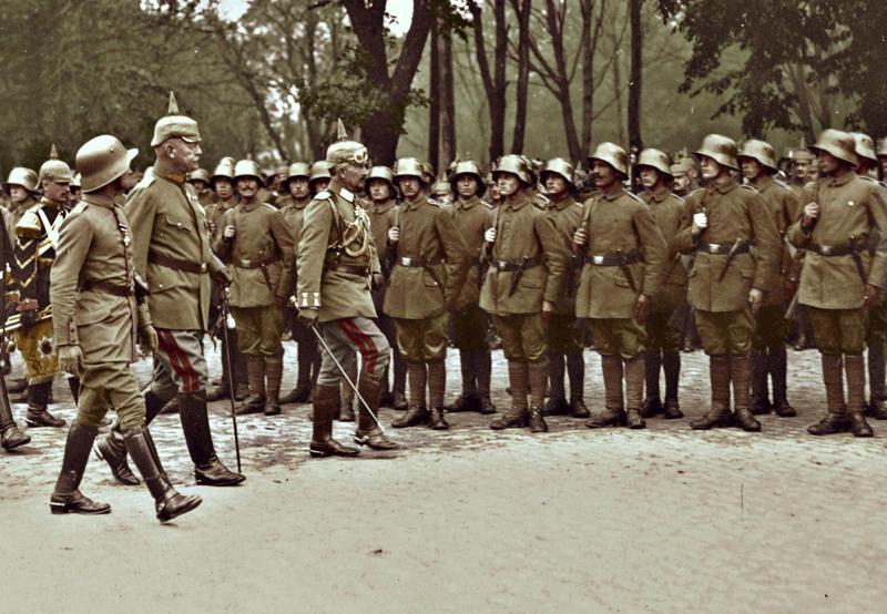 Wilhelm II inspects in Mitau by KraljAleksandar
