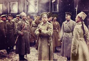 Tsar Nicholas II in 1916. by KraljAleksandar
