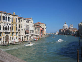 The Grand Canal in Venice by KraljAleksandar