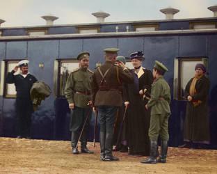 Romanov's at the train station by KraljAleksandar
