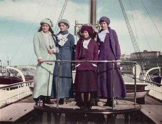 OTMA, circa 1915. by KraljAleksandar