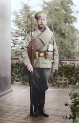 Nicholas II testing out... by KraljAleksandar