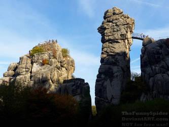 Sunny Externsteine - Germany, October 2018 by TheFunnySpider