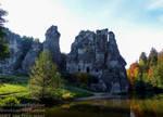 Externsteine in Autumn - Germany, October 2018 by TheFunnySpider
