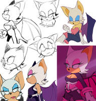 Rougedoodles by Un-Genesis